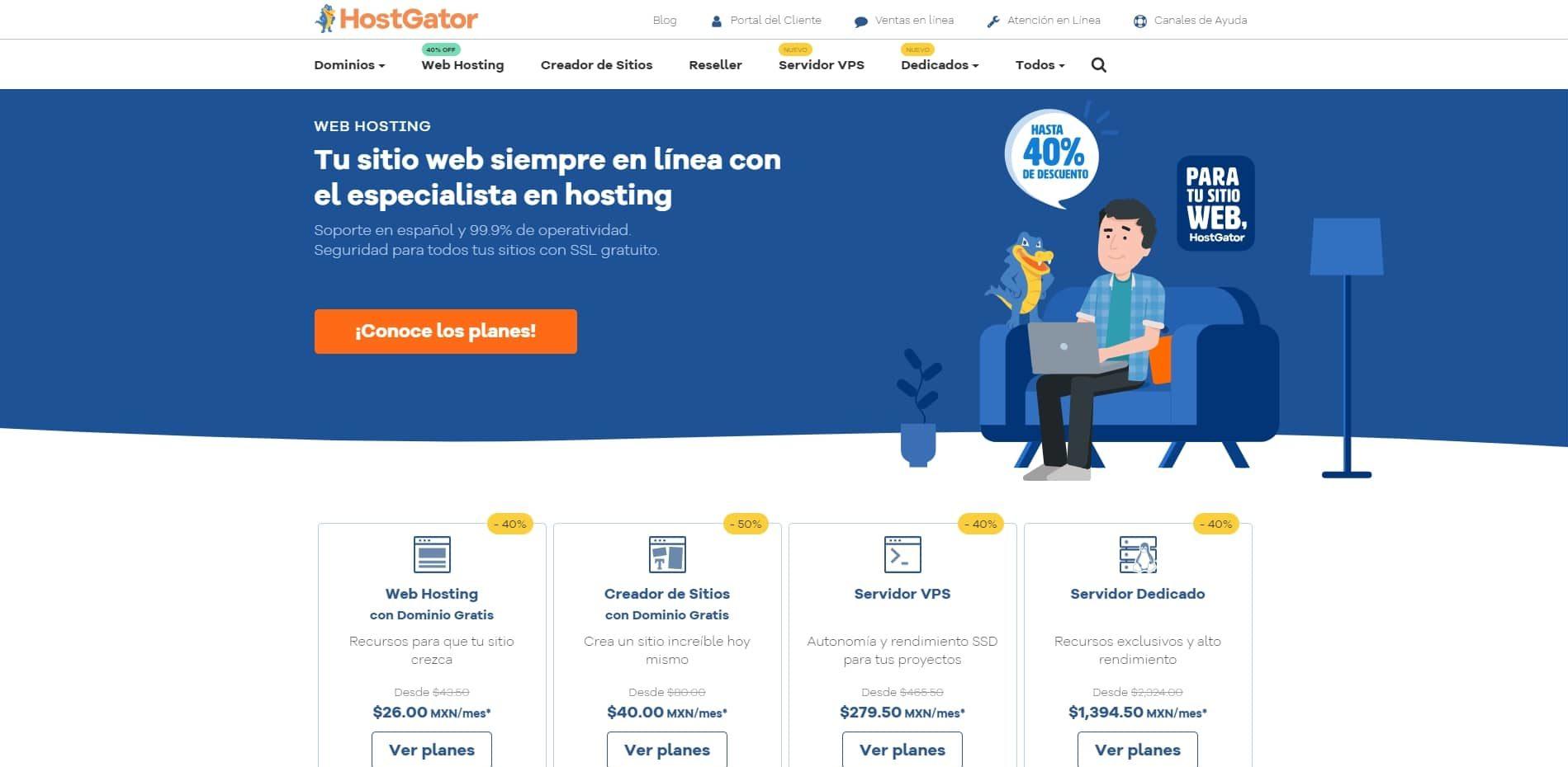 Hostgator web