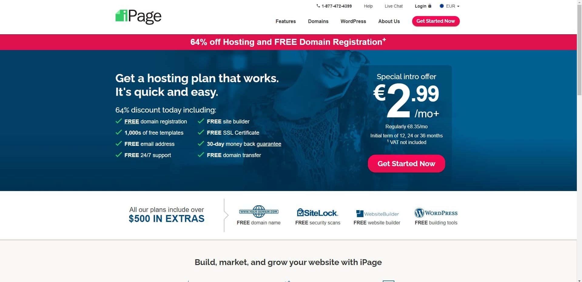 Ipage web