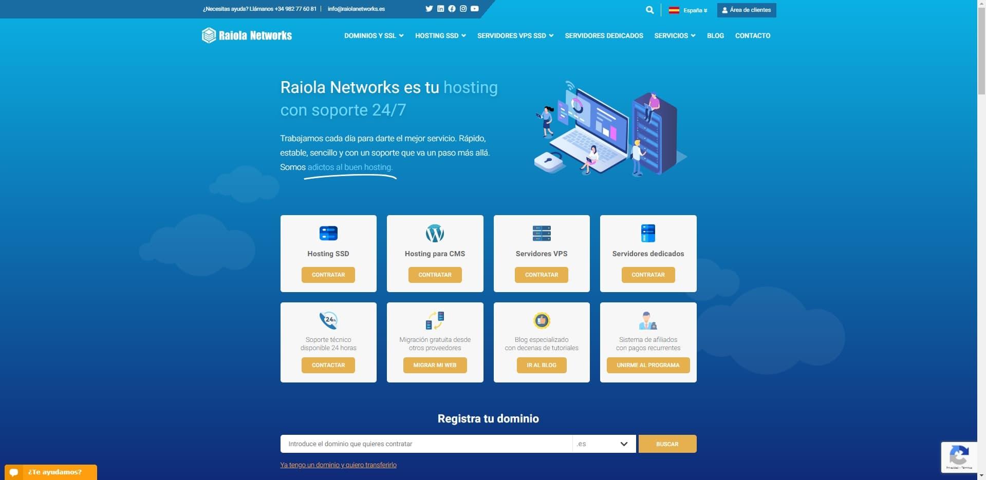 Raiola web