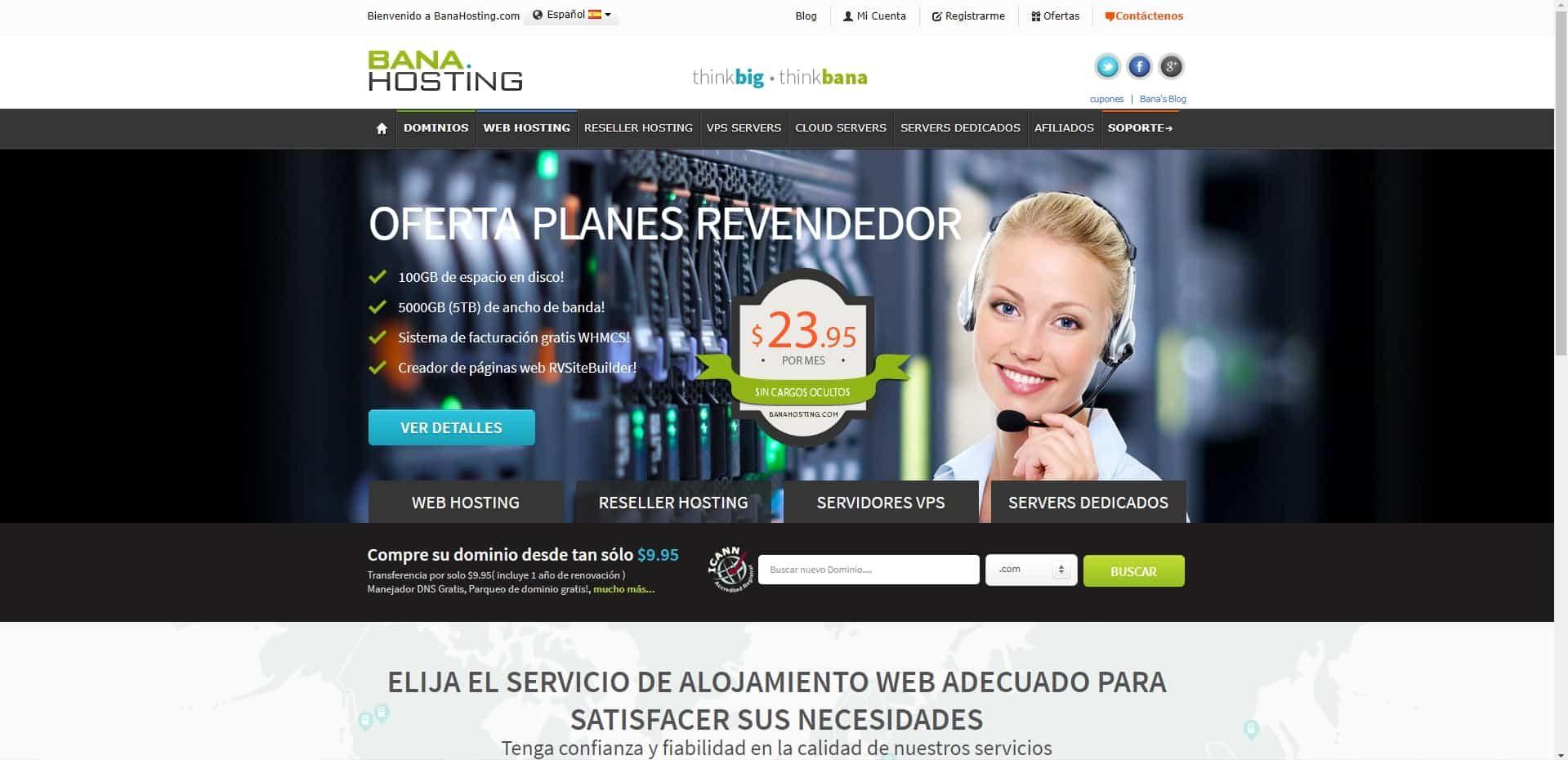 banahosting web