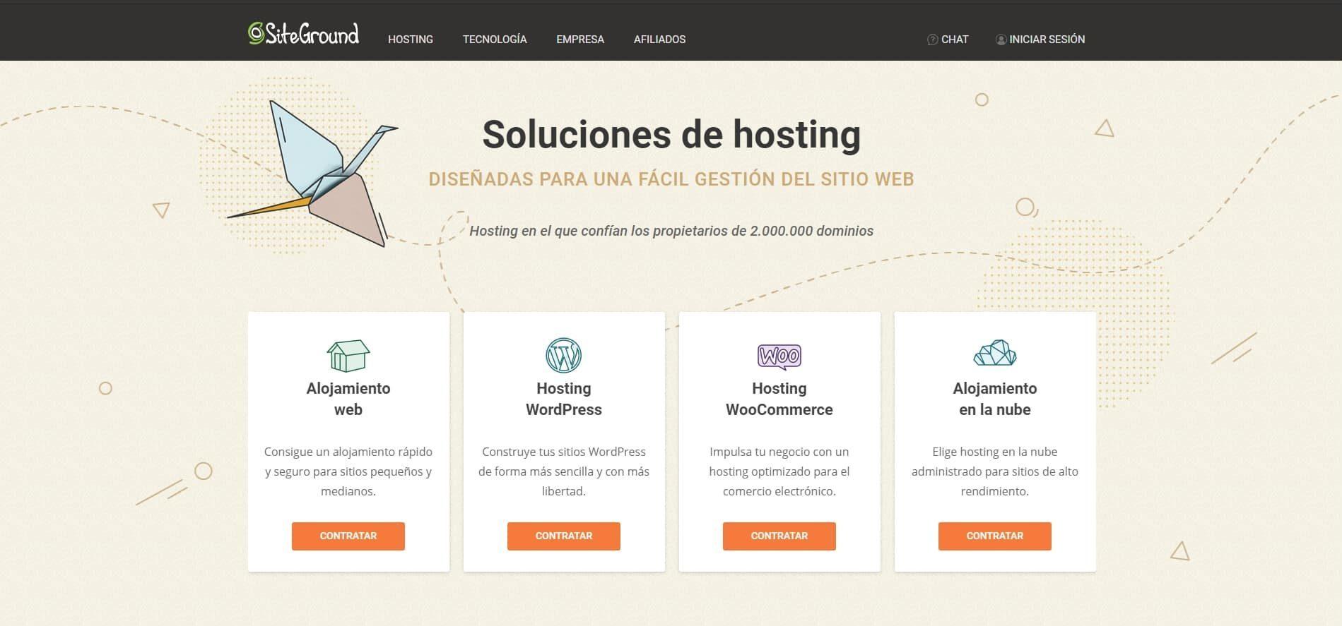 siteground web