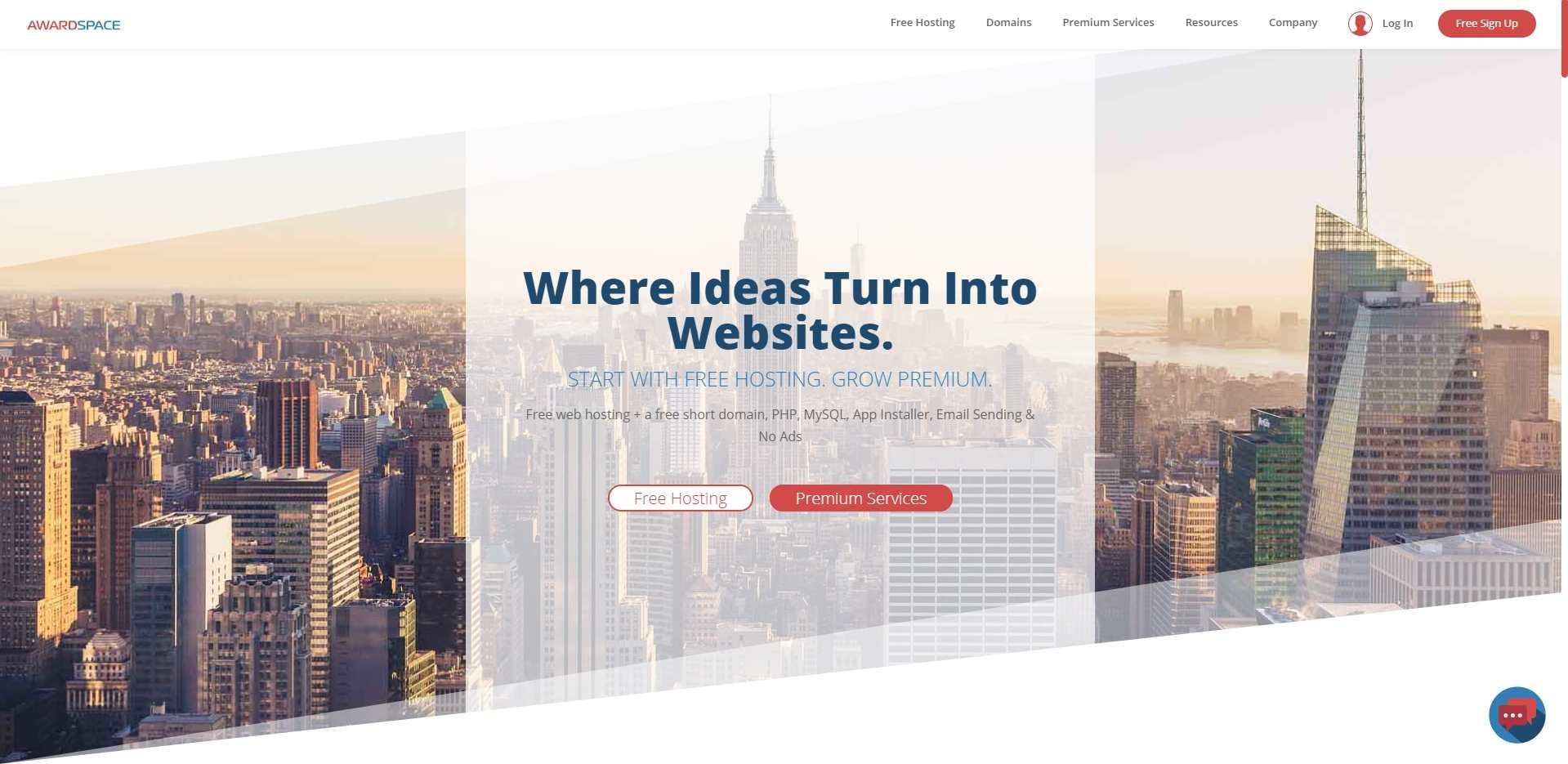 Awardspace web