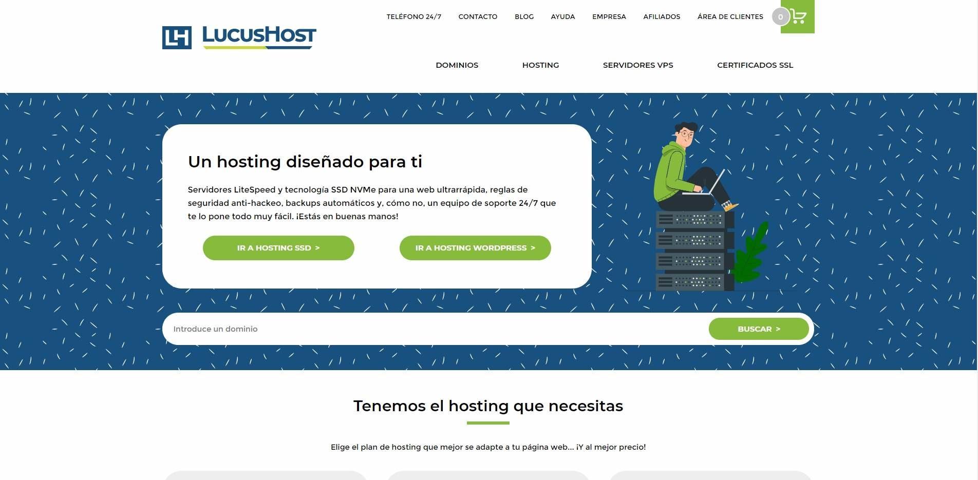 Lucushost web