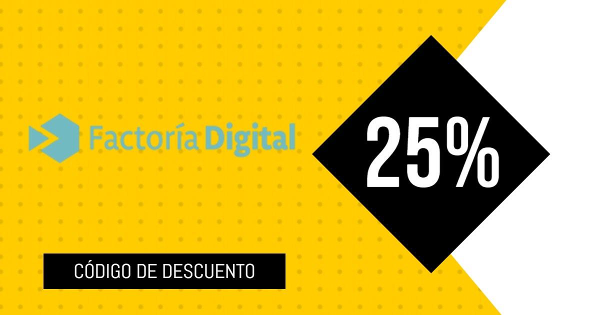 cupon descuento Factoria Digital