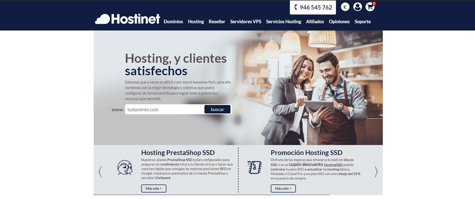 Hostinet web