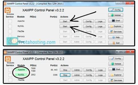 Configuración Xampp