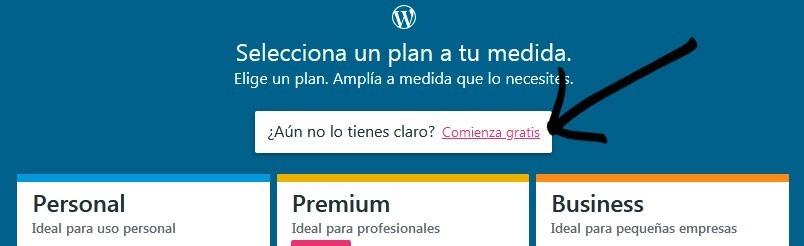 plan wordpress.com