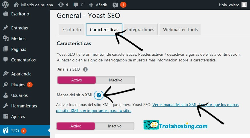 Sitemap yoast seo