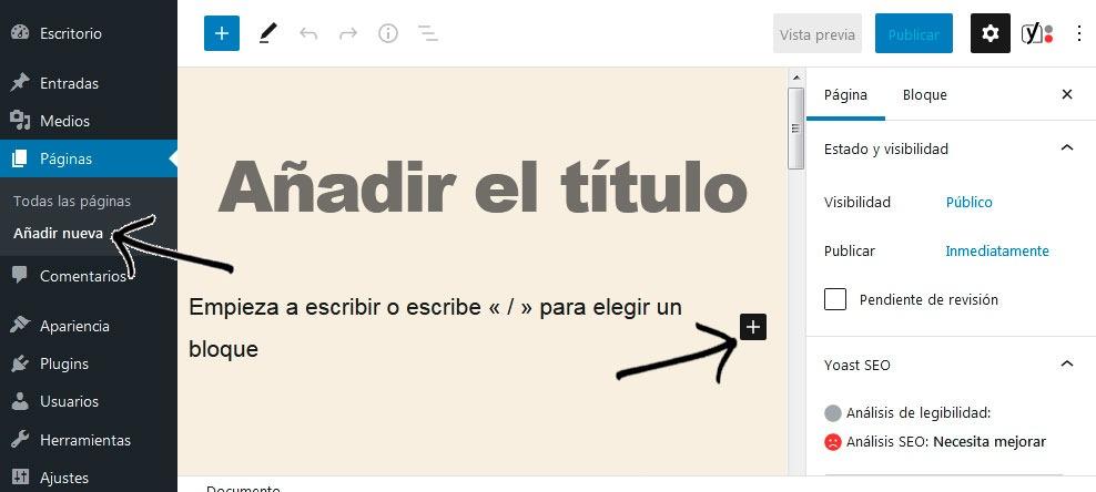 Incluir html sitemap