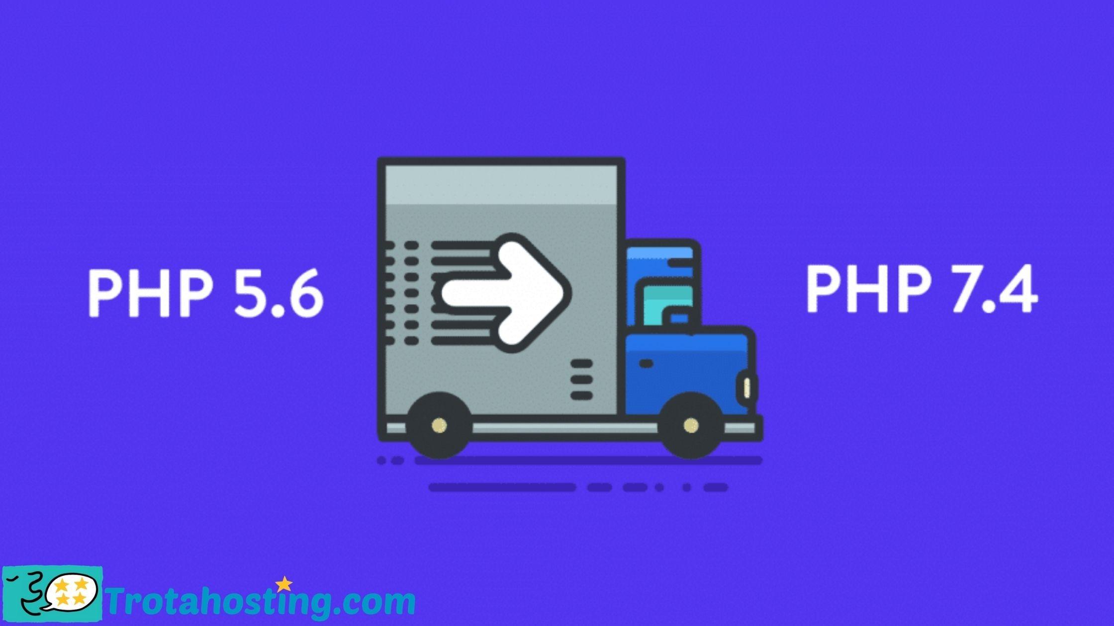 Como actualizar versiónPHPde mi servidor