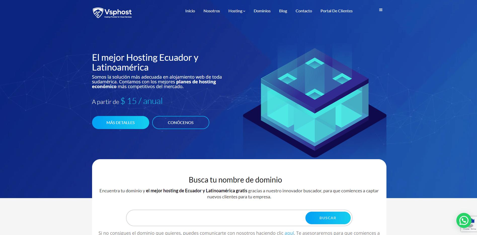 Vsphost web